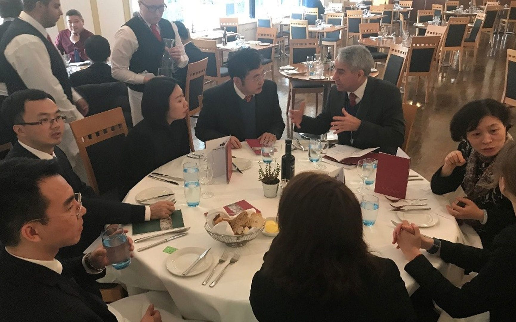 USA and China Delegates