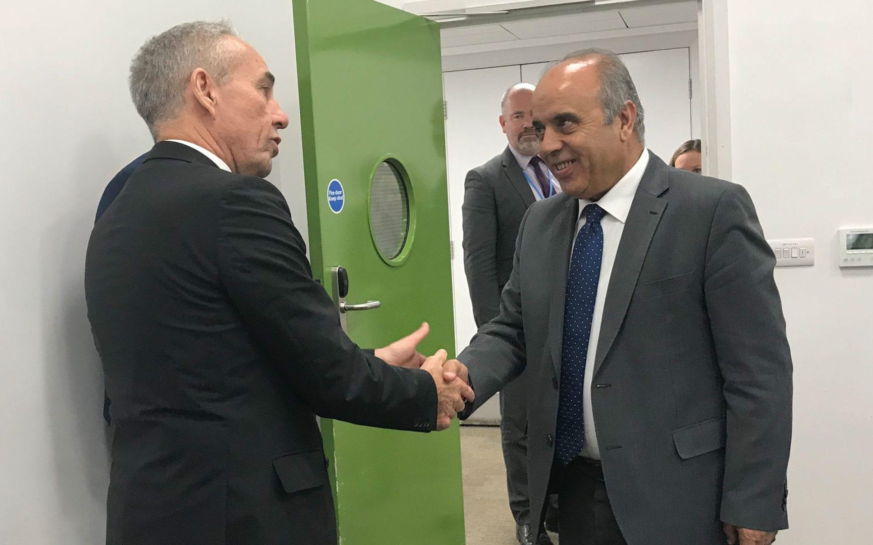Jordanian Minister