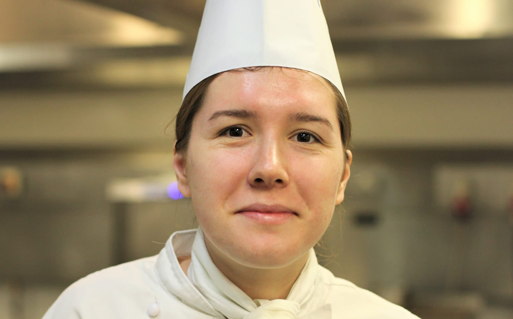 Beth Collins in the kitchen at WestKing